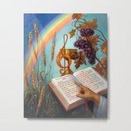 Holy Bible - The Gospel According to John Metal Print