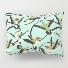 Hummingbirds with Ribbons Pillow Sham