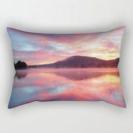 Sunrise: Fire Above and Fire Below Rectangular Pillow