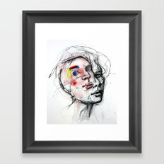 The abandonment of the body Framed Art Print