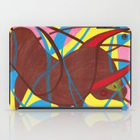 bull iPad Cases featuring Bull by PrincessThunderHead