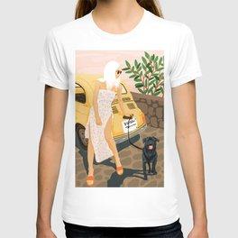 Tour #illustration T-shirt
