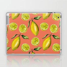 Lemons pattern Laptop & iPad Skin