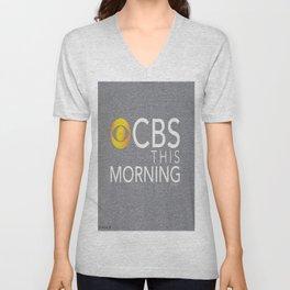 CBS This Morning 2020 Unisex V-Neck