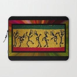 lively up reggae dancers Laptop Sleeve