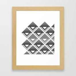 Simply Geometric Framed Art Print