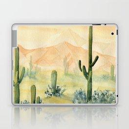 Desert Sunset Landscape Laptop & iPad Skin