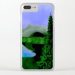 Landscape Clear iPhone Case
