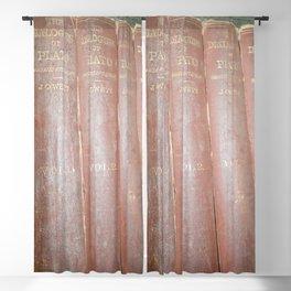 Antique books Blackout Curtain