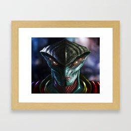 Javik Framed Art Print