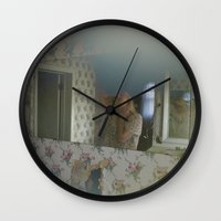 mirror Wall Clocks featuring Mirror by kdyj