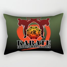 karate5 Rectangular Pillow