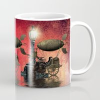 steampunk Mugs featuring Steampunk by Shalisa Photography