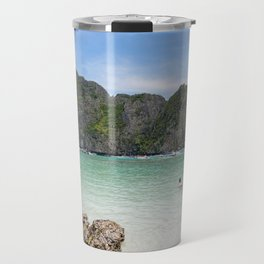 Maya Bay, Ko Phi Phi Lee Island, Thailand Travel Mug
