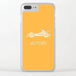 MOTORS / The Car Clear iPhone Case