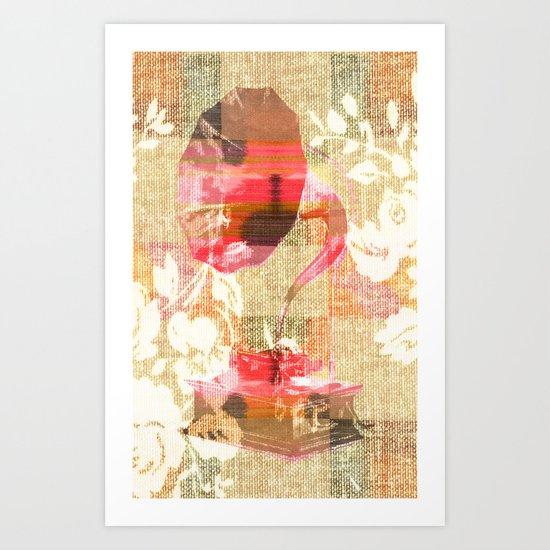 Dueling Phonographs III Art Print
