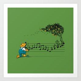 Maestro of Nature Art Print