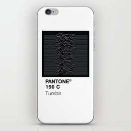 Color Swatch - Joy Division iPhone Skin