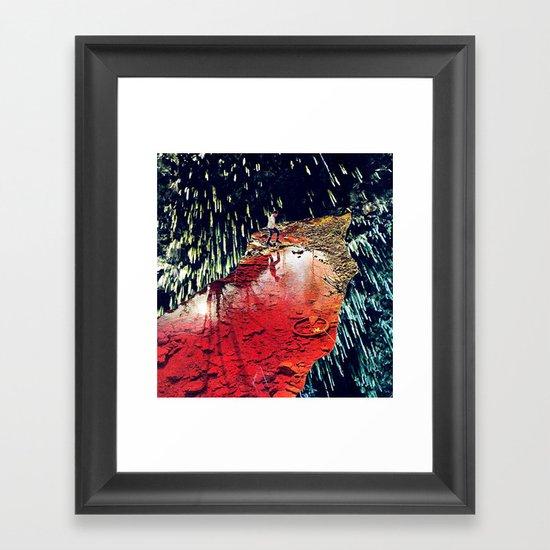 receptors - a hugo barros remix :) Framed Art Print