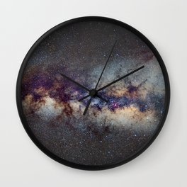 The Milky Way: from Scorpio and Antares to Perseus Wall Clock