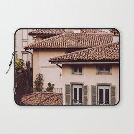 Bergamo rooftops - vertical Laptop Sleeve