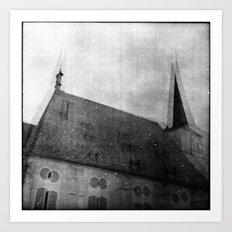 D. du Maurier Art Print
