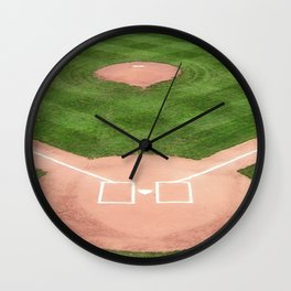 Baseball field Wall Clock