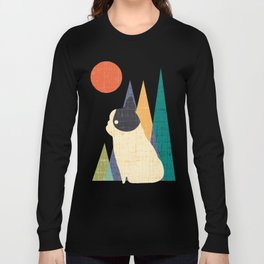 Waiting for You French Bulldog Long Sleeve T-shirt