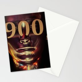 Day 0900 /// NINE HUNDRED WHAT UP Stationery Cards