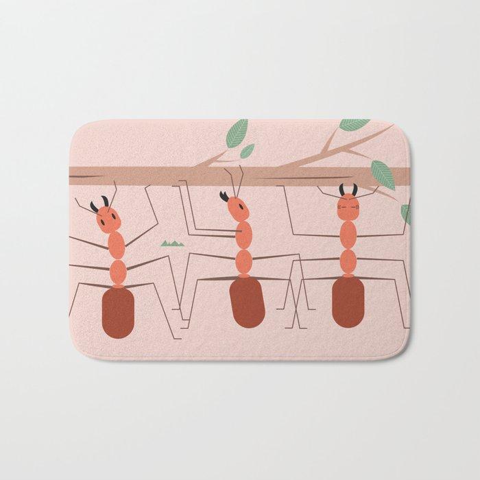 Ants at work Bath Mat