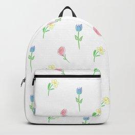 Springtime Flowers Backpack