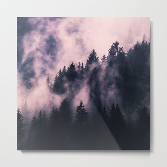 Foggy Night #society6 #decor #buyart Metal Print