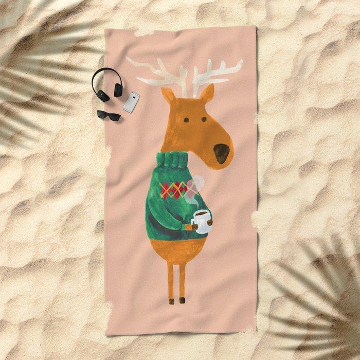 Hot Coffee Beach Towel