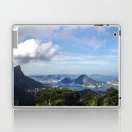 RIO DE JANEIRO THE CITY POSTCARD Laptop & iPad Skin