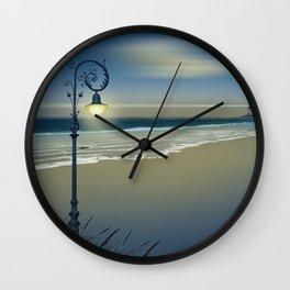 Beach and coastal lighting Wall Clock