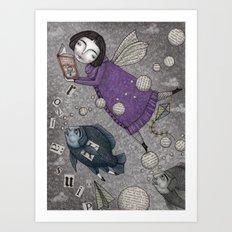 Stories in the Sky Art Print