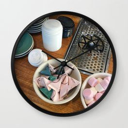 Coffee Cafe Counter Wall Clock