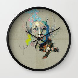 Marlena Shaw Wall Clock