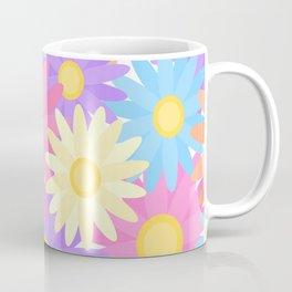 Floral Daisy Dahlia Flower Coffee Mug
