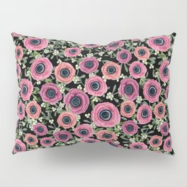 Anemone Floral 2018 by Magenta Rose Designs Pillow Sham