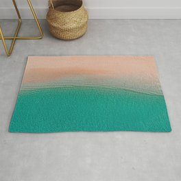 5 o'clock; and there's a beach somewhere! Rug