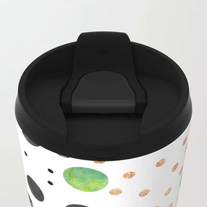 Jungle Coctail Metal Travel Mug