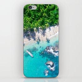 Jungle Beach | Caribbean Island iPhone Skin