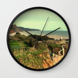 Sidmouth Seascape Wall Clock