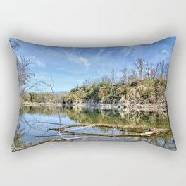 Old Stone Quarry Rectangular Pillow