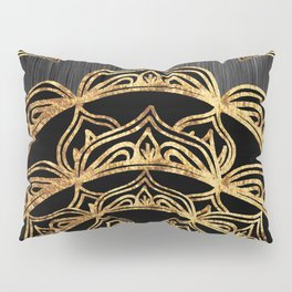Gold Lace Sunrise Pillow Sham