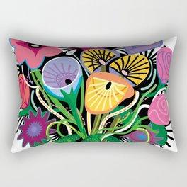 Yelapa Flowers Rectangular Pillow