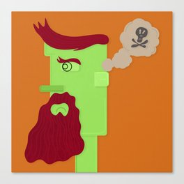 Unsatisfied Customer Nine Canvas Print