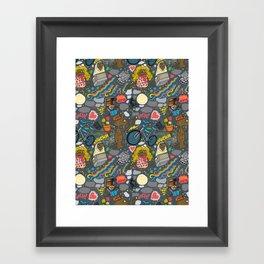 ET! Framed Art Print