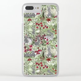 Buns in the Sun Clear iPhone Case